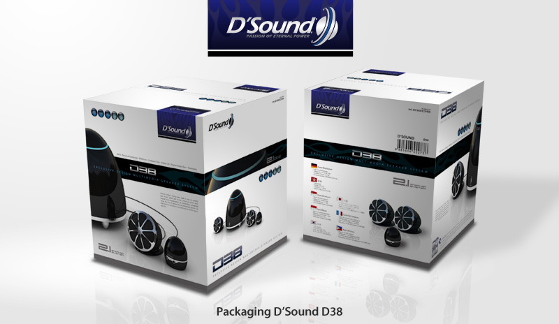 Packaging D'Sound D38