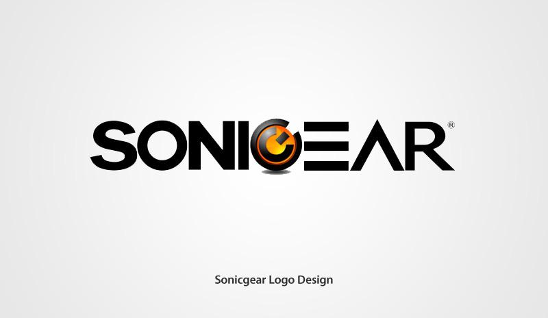 Sonicgear Logo Design