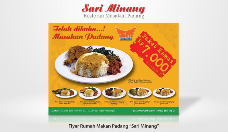 Flyer Sari Minang