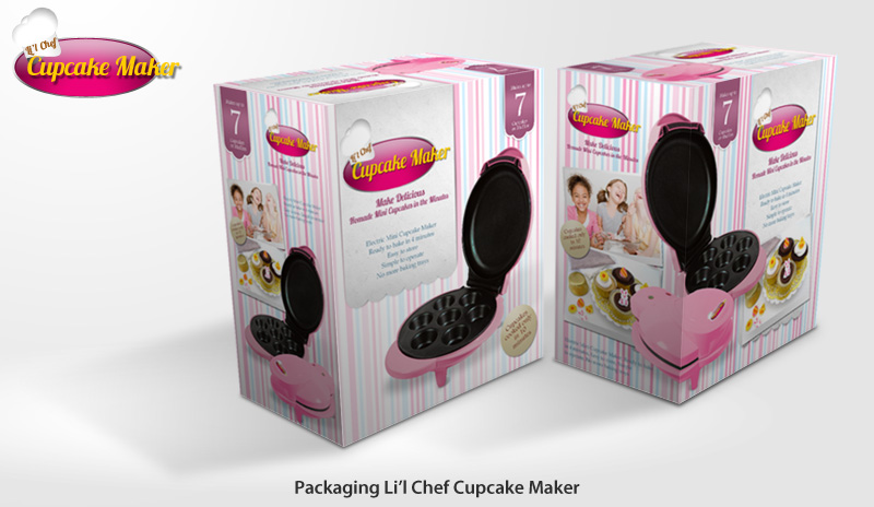 Packaging Li'l Chef Cupcake Maker