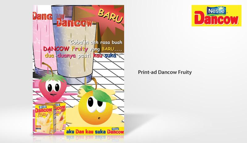 Print-Ad Nestle Dancow Fuity