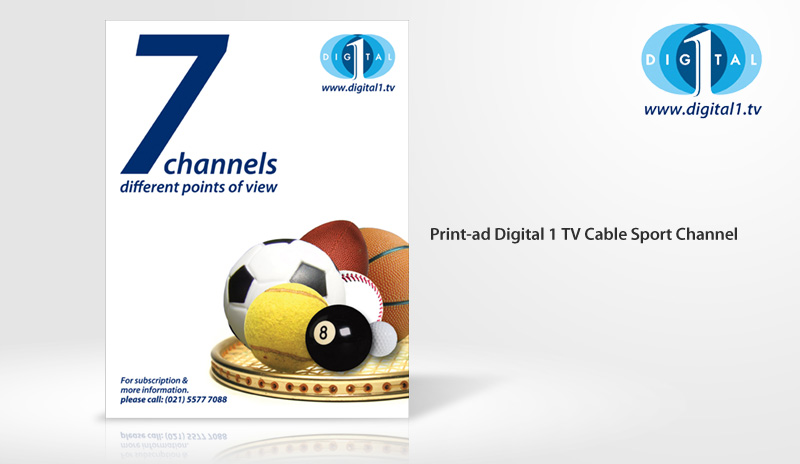 Print-Ad Digital 1 Sport Channel