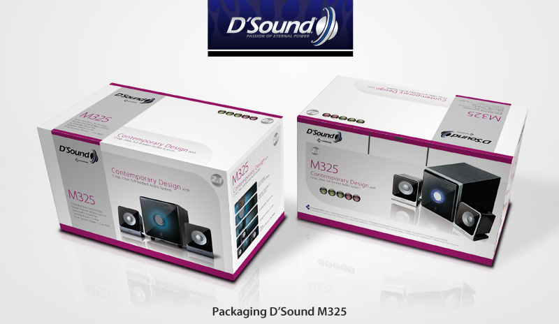 Packaging D'Sound M325