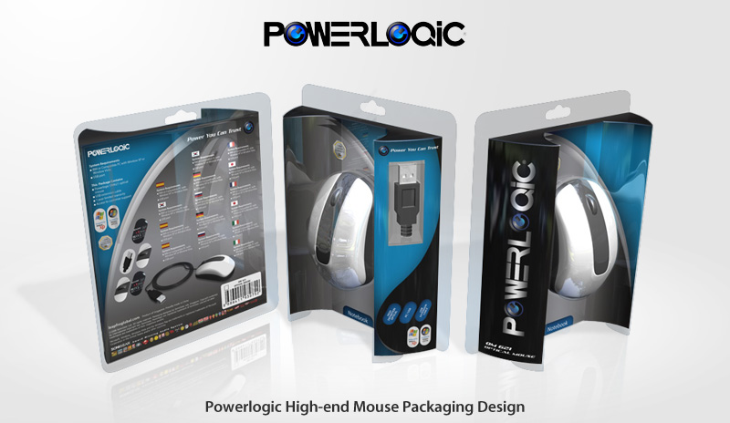 Packaging Powerlogic High-end Mouse
