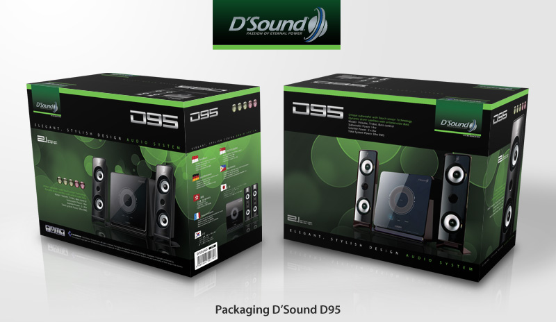 Packaging D'Sound D95