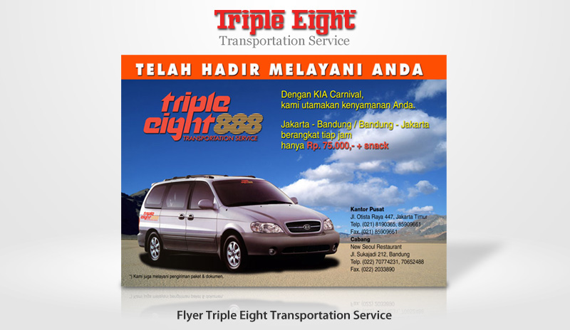 Flyer Triple Eight