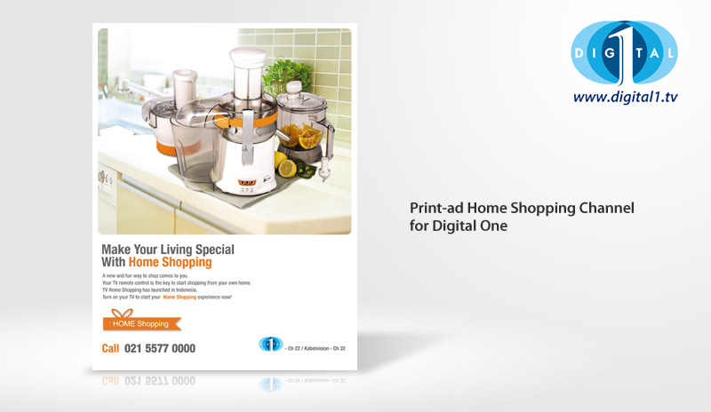 Print Ad Digital One Home Shopping Channel
