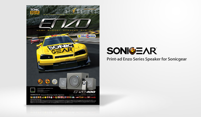 Print Ad Sonicgear Enzo